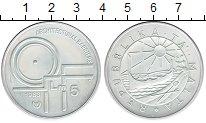Изображение Монеты Мальта 5 лир 1983 Серебро Proof-