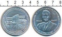 Изображение Монеты Руанда 1000 франков 1989 Серебро UNC 25 лет Банку Руанды