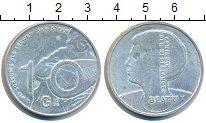 Изображение Монеты Нидерланды 10 гульденов 1996 Серебро XF
