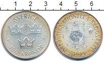 Изображение Монеты Швеция 100 крон 1985 Серебро XF+