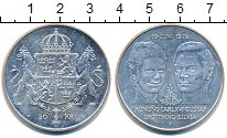 Изображение Монеты Швеция 50 крон 1976 Серебро UNC-