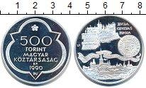 Изображение Монеты Венгрия 500 форинтов 1990 Серебро Proof-