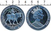 Изображение Монеты Гибралтар 21 экю 1994 Серебро Proof- Европа на быке