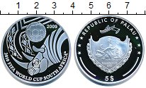 Изображение Монеты Палау 5 долларов 2009 Серебро Proof-
