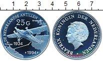 Изображение Монеты Антильские острова 25 гульденов 1994 Серебро Proof