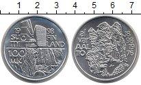 Изображение Монеты Финляндия 100 марок 1998 Серебро UNC-