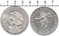 Изображение Монеты Мексика 25 песо 1968 Серебро XF Олимпиада 1968 в Мех