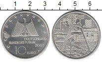 Изображение Монеты Германия 10 евро 2003 Серебро UNC Рурский  промышленны