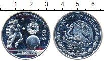 Изображение Монеты Мексика 50 песо 1985 Серебро UNC