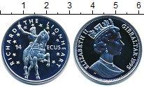 Изображение Монеты Гибралтар 14 экю 1995 Серебро Proof-