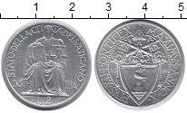 Изображение Монеты Ватикан 2 лиры 1948 Алюминий UNC-