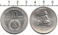 Изображение Монеты ГДР 10 марок 1979 Серебро UNC