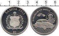 Изображение Монеты Самоа 2 доллара 2013 Серебро Proof