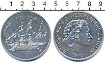 Изображение Монеты Антильские острова 25 гульденов 1976 Серебро UNC