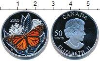 Изображение Монеты Канада 50 центов 2005 Серебро Proof