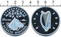 Изображение Монеты Ирландия 10 евро 2008 Серебро Proof- Гора.Птицы