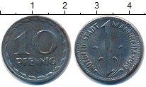 Изображение Монеты Германия : Нотгельды 10 пфеннигов 1919 Железо XF Мангейм.