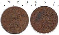 Изображение Монеты Нидерланды Нидерландская Индия 2 1/2 цента 1945 Бронза VF