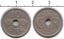 Изображение Монеты Дания 10 эре 1938 Медно-никель XF