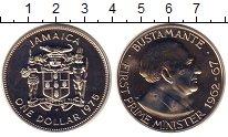 Изображение Монеты Ямайка 1 доллар 1975 Медно-никель UNC