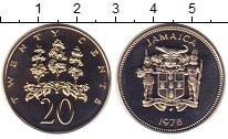Изображение Монеты Ямайка 20 центов 1975 Медно-никель UNC