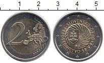 Изображение Монеты Словакия 2 евро 2016 Биметалл UNC-
