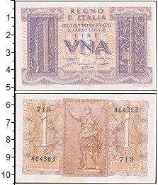 Изображение Боны Италия 1 лира 0  XF