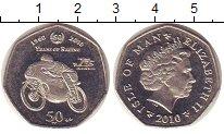 Изображение Монеты Остров Мэн 50 пенсов 2010 Медно-никель UNC