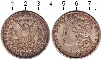 Изображение Монеты США 1 доллар 1889 Серебро XF