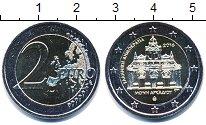 Изображение Мелочь Греция 2 евро 2016 Биметалл UNC-