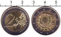 Изображение Монеты Нидерланды 2 евро 2015 Биметалл UNC-