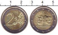 Изображение Монеты Италия 2 евро 2016 Биметалл UNC-
