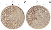 Изображение Монеты Польша 3 полкера 1623 Серебро XF-