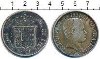 Изображение Монеты Сицилия 120 грано 1834 Серебро VF