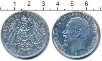Изображение Монеты Германия Баден 3 марки 1915 Серебро XF