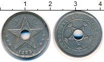 Изображение Монеты Бельгийское Конго 5 сантимов 1925 Медно-никель VF