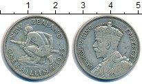 Изображение Монеты Новая Зеландия 1 шиллинг 1935 Серебро XF-