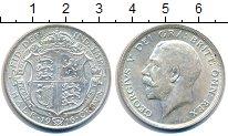 Изображение Монеты Великобритания 1/2 кроны 1916 Серебро XF