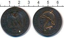 Изображение Монеты Франция 10 сантимов 1854 Бронза VF