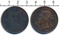 Изображение Монеты Остров Джерси 1/12 шиллинга 1881 Бронза VF