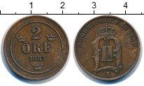 Изображение Монеты Швеция 2 эре 1883 Бронза XF