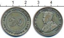Изображение Монеты Стрейтс-Сеттльмент 20 центов 1926 Серебро XF-