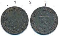 Изображение Монеты Рейсс 1 грош 1844 Серебро XF- Генрих LXII