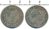 Изображение Монеты Пруссия 1/6 талера 1844 Серебро XF