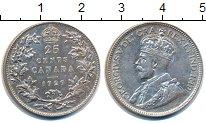 Изображение Монеты Канада 25 центов 1929 Серебро XF