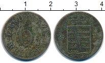 Изображение Монеты Саксен-Майнинген 6 крейцеров 1829 Серебро VF Бернхард II