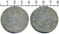 Изображение Монеты Шварцбург-Зондерхаузен 2/3 талера 1676 Серебро XF-