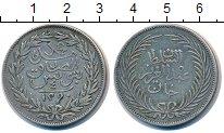 Изображение Монеты Тунис 4 пиастра 1873 Серебро XF Абдул Азиз