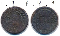 Изображение Монеты Испания 2 мараведи 1745 Медь VF