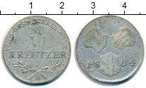 Изображение Монеты Австрия 6 крейцеров 1804 Серебро VF